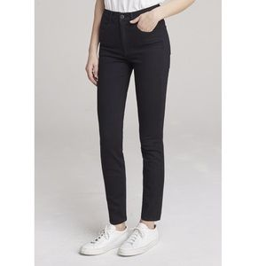 3x1 black skinny jeans mid rise stretchy pants